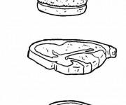 Coloriage dessin  Aliments 46
