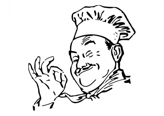 Coloriage et dessins gratuits Chef cuisinier à imprimer