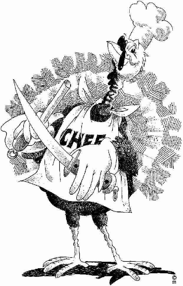 Coloriage chef cuisinier humour dessin gratuit imprimer for Cuisinier humour