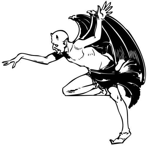 Coloriage et dessins gratuits Vampire réel qui fait peur à imprimer