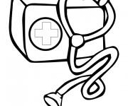 Coloriage dessin  Docteur 10