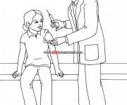Coloriage dessin  Docteur 13