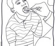 Coloriage et dessins gratuit Docteur 21 à imprimer
