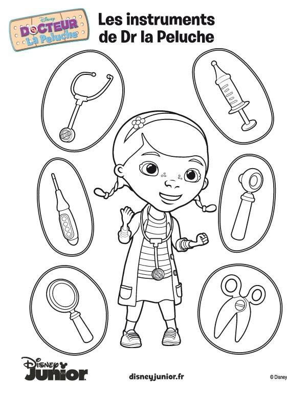 Coloriage et dessins gratuits Docteur 3 à imprimer