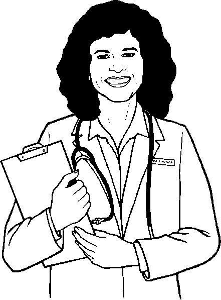 Coloriage et dessins gratuits Docteur 36 à imprimer