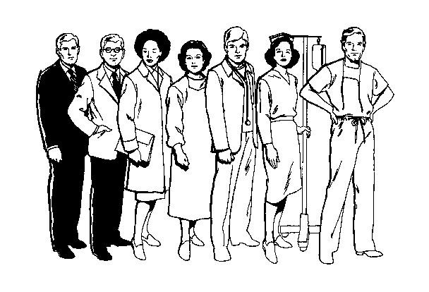 Coloriage et dessins gratuits Les Docteurs à imprimer