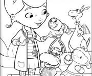 Coloriage dessin  Magique docteur la Peluche