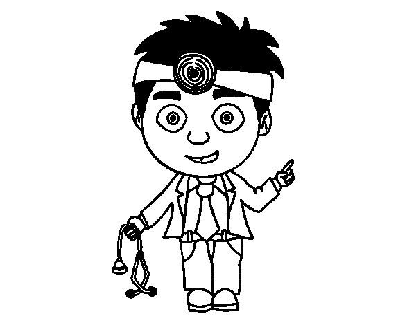 Coloriage et dessins gratuits Petit Docteur à imprimer