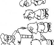 Coloriage dessin  Enseignant 17