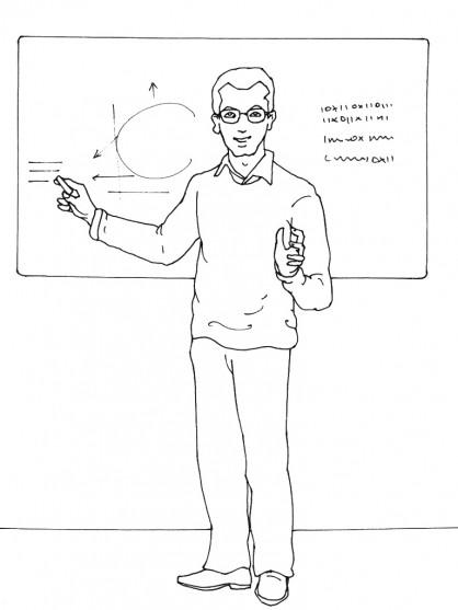 Coloriage et dessins gratuits Enseignant donne une leçon à imprimer