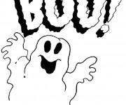 Coloriage et dessins gratuit Dessin Halloween facile à imprimer