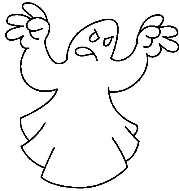 Coloriage et dessins gratuits Fantome 47 à imprimer