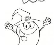 Coloriage Fantome Boo