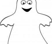 Coloriage Fantome pour enfants