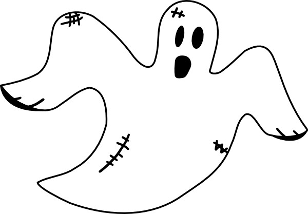 Coloriage et dessins gratuits Fantome volant à imprimer