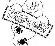 Coloriage Halloween adulte
