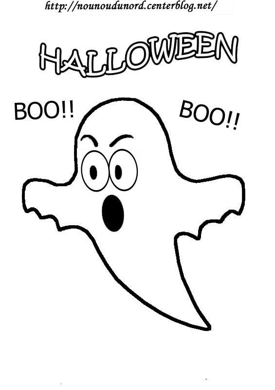 Coloriage et dessins gratuits halloween facile à imprimer