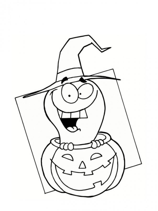 Coloriage halloween facile dessin dessin gratuit imprimer - Dessin halloween facile ...