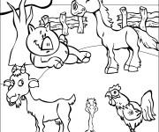 Coloriage animaux dessin en ligne