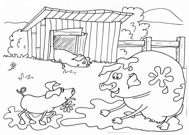 Coloriage et dessins gratuits Fermier 50 à imprimer