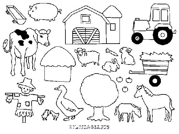 Coloriage et dessins gratuits Fermier 67 à imprimer