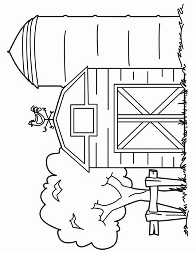 Coloriage et dessins gratuits Le stable à imprimer