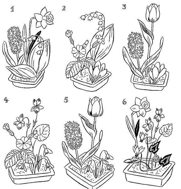 Coloriage et dessins gratuits Fleuriste 11 à imprimer