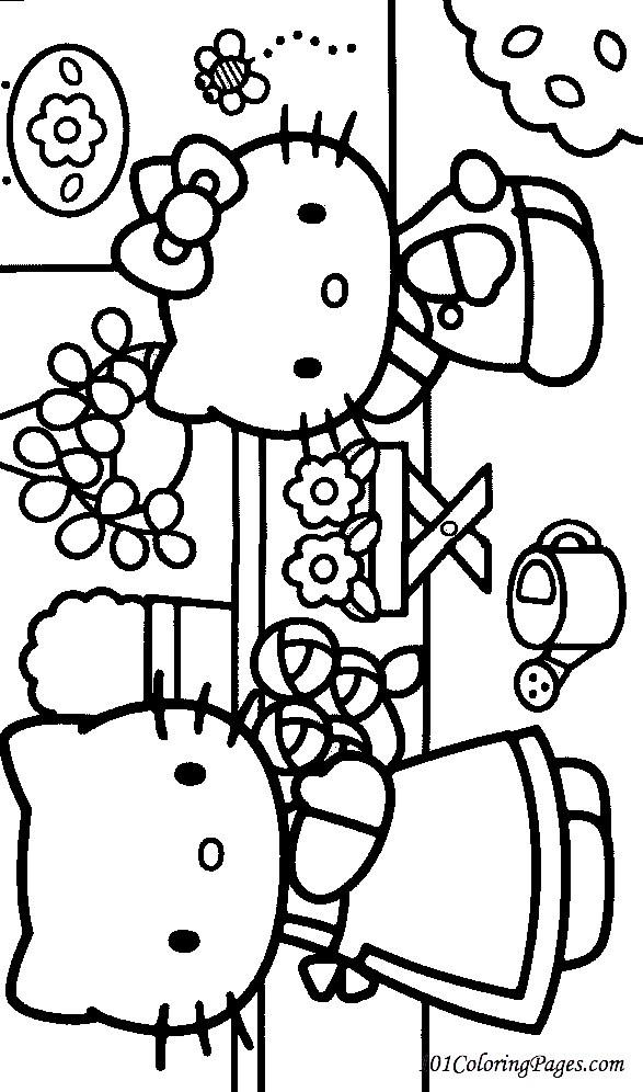 Coloriage et dessins gratuits Fleuriste 12 à imprimer