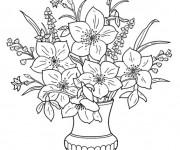 Coloriage Fleuriste 15