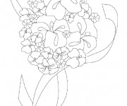 Coloriage et dessins gratuit Fleuriste 16 à imprimer
