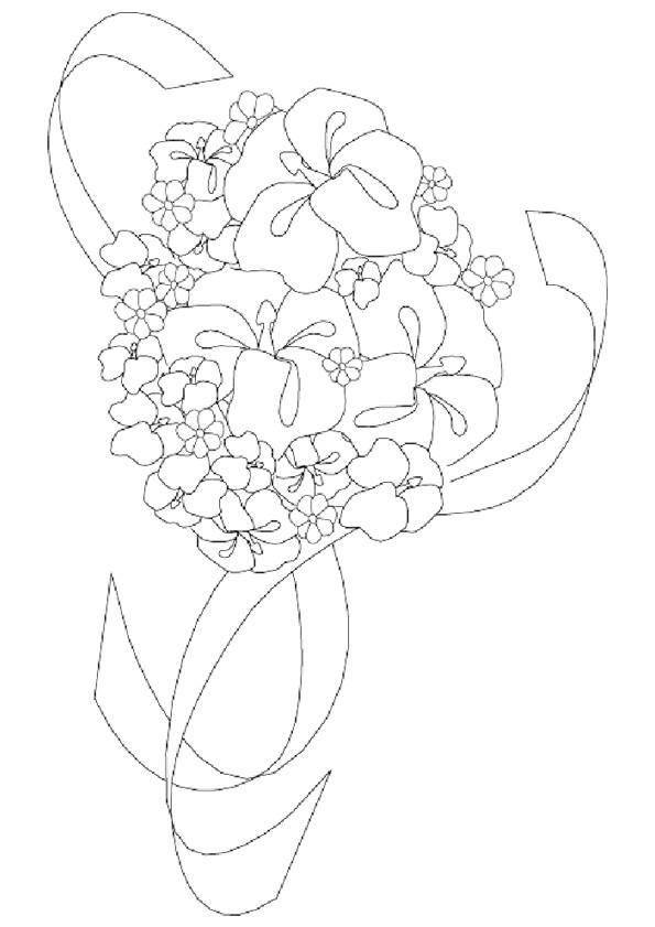 Coloriage et dessins gratuits Fleuriste 16 à imprimer