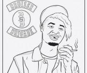 Coloriage et dessins gratuit Gangster Bruiser Brigade à imprimer