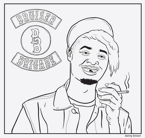 Coloriage et dessins gratuits Gangster Bruiser Brigade à imprimer