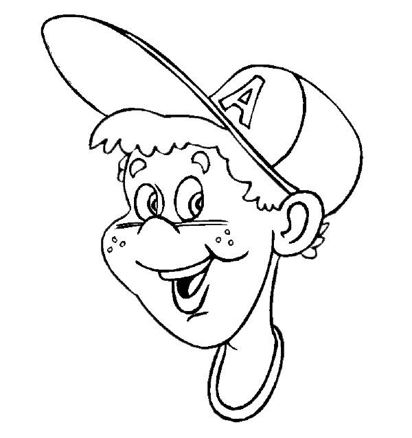 Coloriage et dessins gratuits Un garçon porte un chapeau à imprimer