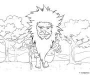 Coloriage et dessins gratuit Géant de la forêt à imprimer