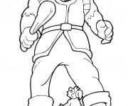 Coloriage Géant et petit homme