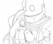 Coloriage et dessins gratuit Géant Robot pour enfant à imprimer
