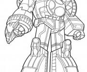 Coloriage Power Rangers Géant