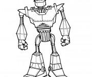 Coloriage et dessins gratuit Robot Géant à imprimer
