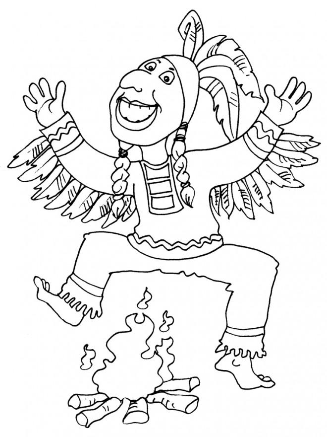 Coloriage A Imprimer Danseuse Indienne.Coloriage Indien Danse Dessin Gratuit A Imprimer