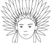 Coloriage et dessins gratuit La coiffe à imprimer