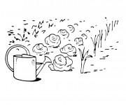 Coloriage dessin  Jardin en ligne