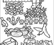 coloriage jardinier gratuit imprimer liste 40 60. Black Bedroom Furniture Sets. Home Design Ideas