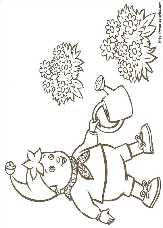 Bien connu Coloriage Jardinier gratuit à imprimer liste 40 à 60 NL37