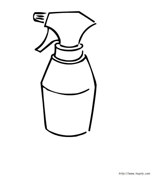 Coloriage un pulv risateur dessin gratuit imprimer for Dessin outils jardinage