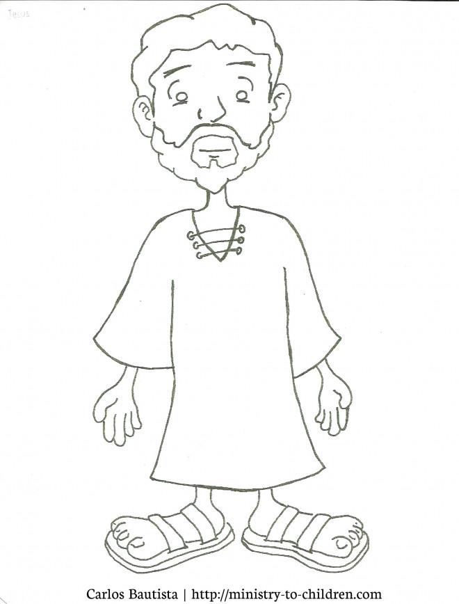 Coloriage et dessins gratuits Image  Jésus pour Enfant à imprimer