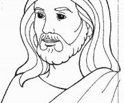 Coloriage Jesus 10