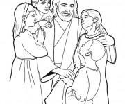 Coloriage Jesus 14