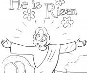 Coloriage Jesus 15