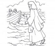 Coloriage Jesus 6